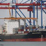 Escala del yate Tatoosh y de los portacontenedores Maersk Nottingham y Santa Giorgina.